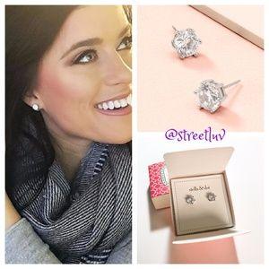 stella & dot ~ sparkle studs in silver
